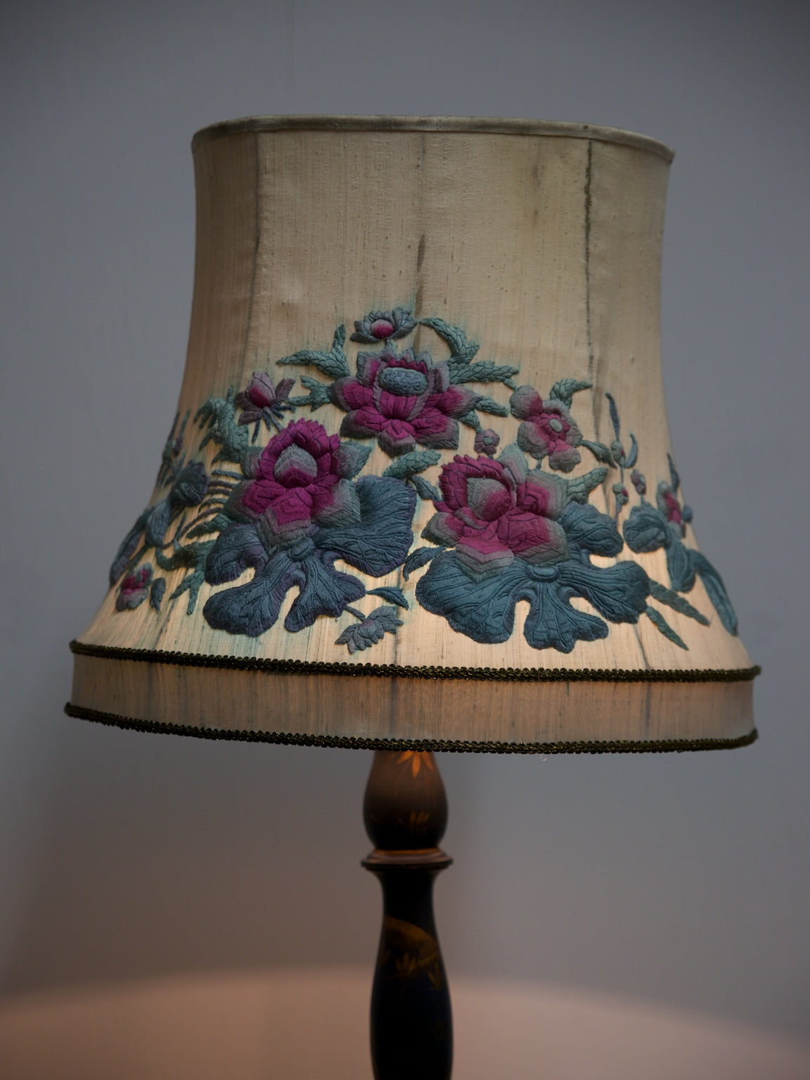 Crewel Work Lampshade