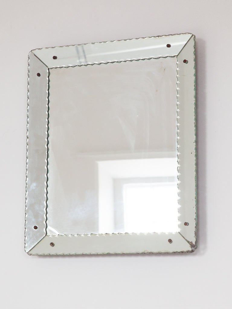 French Bevelled Mirror