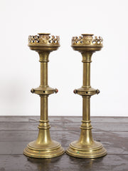 Pugin Candle Sticks