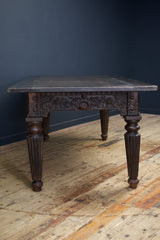 Cast Iron Desk or Dining Table