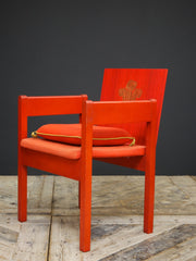 A Pair of Investiture Chairs