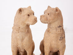 Terracotta Mastiffs