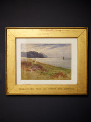 Watercolour of N Wales Coast