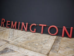 Remington Signage