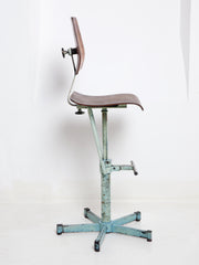 Tall Industrial Chair