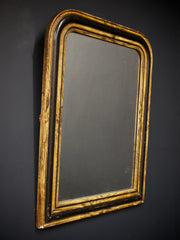 Faux Wood Grain Mirror