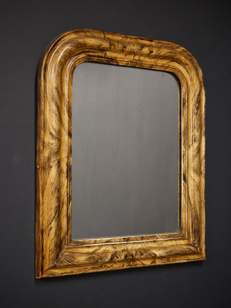 Faux Timber Mirror