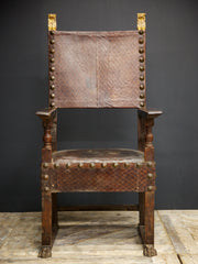 Large 18th Century Chair