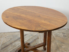 Fruit Wood Vendange Table