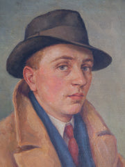 Young Man in Trilby
