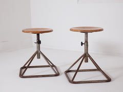 Low Factory Stools