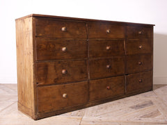 Large Bank of Drawers