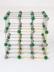 Sodium Chloride Crystal Model