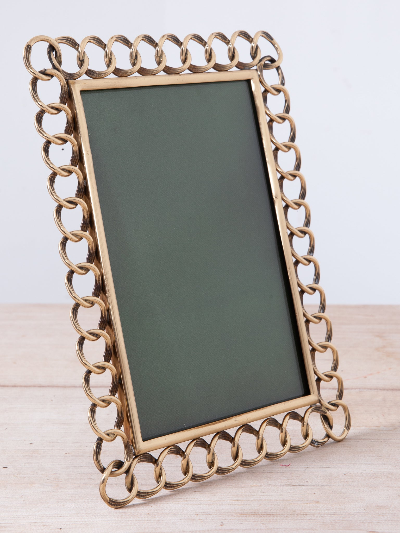 Brass Easel Picture Frame
