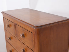 Faux Oak Painted Chest