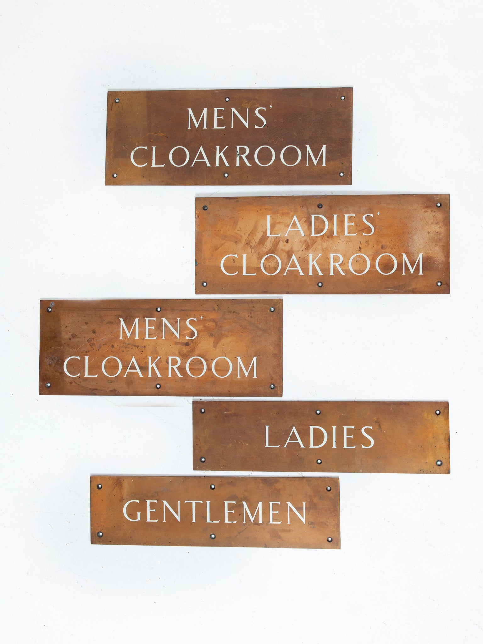 Cloakroom Sign