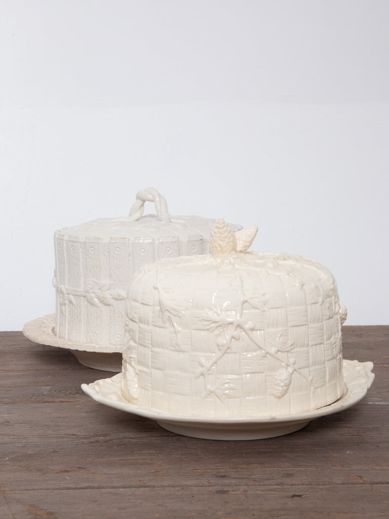 Porcelain Cheese Dishes