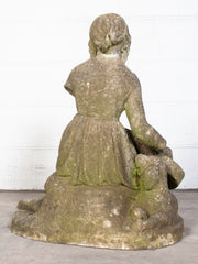 Seated Girl Statuary