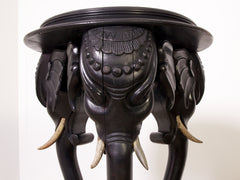 Anglo Indian Lamp Table