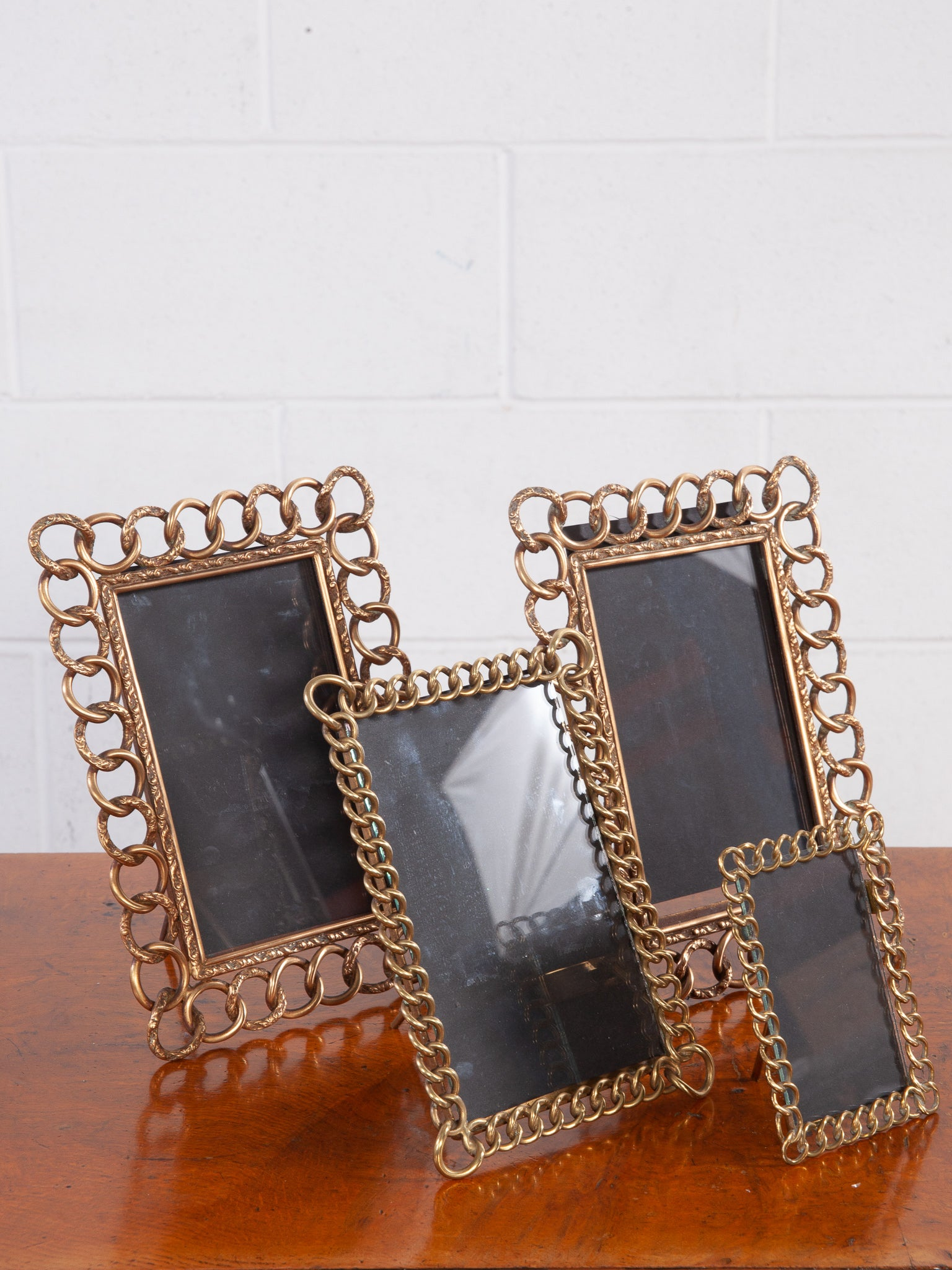 Brass Ring Picture Frames