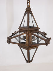 Copper Star Lantern