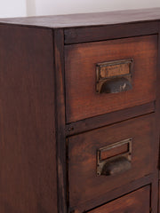 A pair of Banks of Drawers