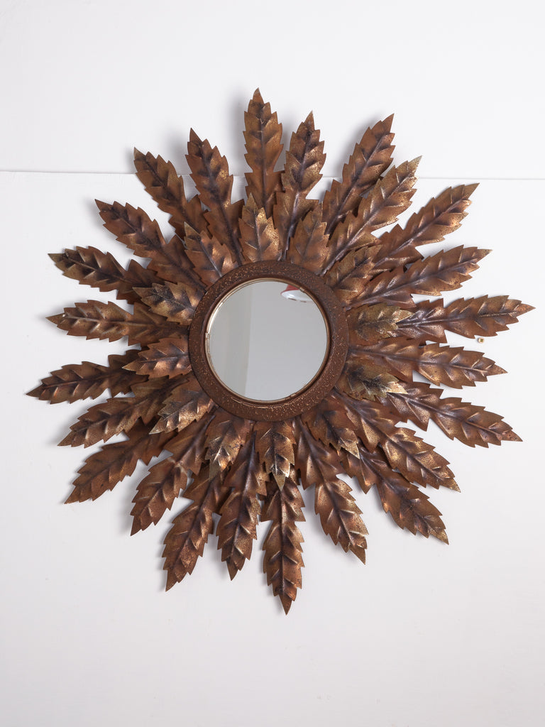 Steel Starburst Mirror
