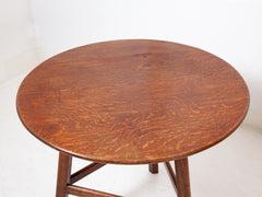 Oak Cricket Table