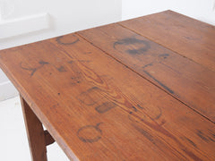 Pitch Pine Wake Table