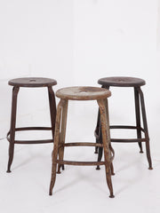 Modernist Factory Stools