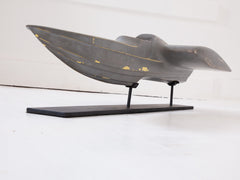 Areofoil Boat Wind Tunnel Model