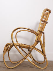 Bamboo Porch Chair