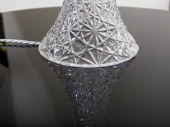 Cut Glass Table Lamp
