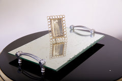 Mirrored Deco Tray