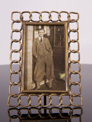 Small Brass Picture Frame