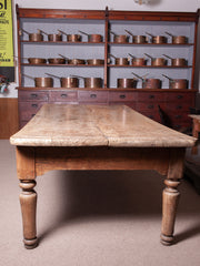 A 19th Century Oak & Yew Refectory Table
