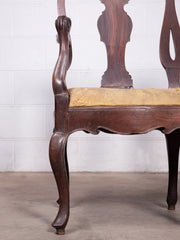 18th Century Colonial Chair Back Settee