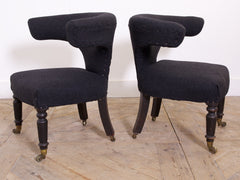 A Pair of Cock Fighting Chairs