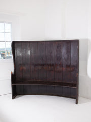 Large Painted Settle