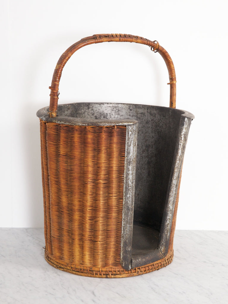 Wicker Plate Bucket