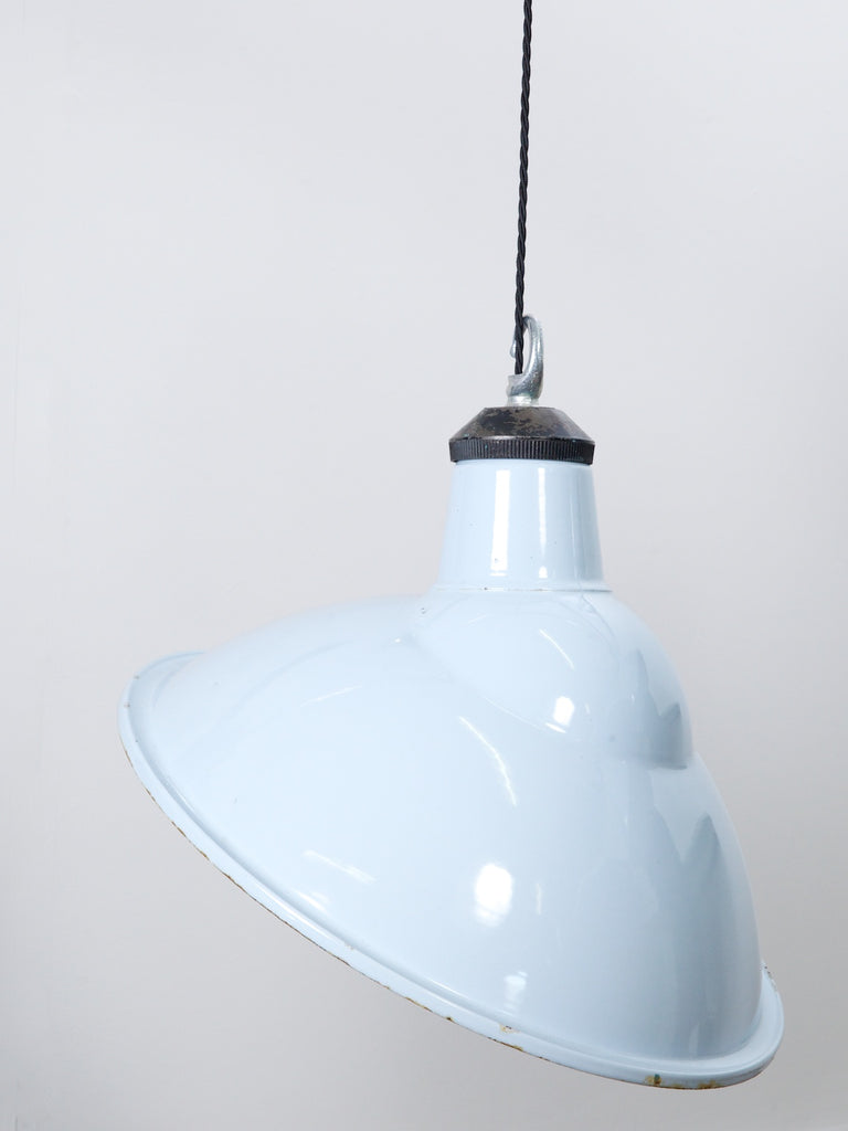Blue Industrial Pendants