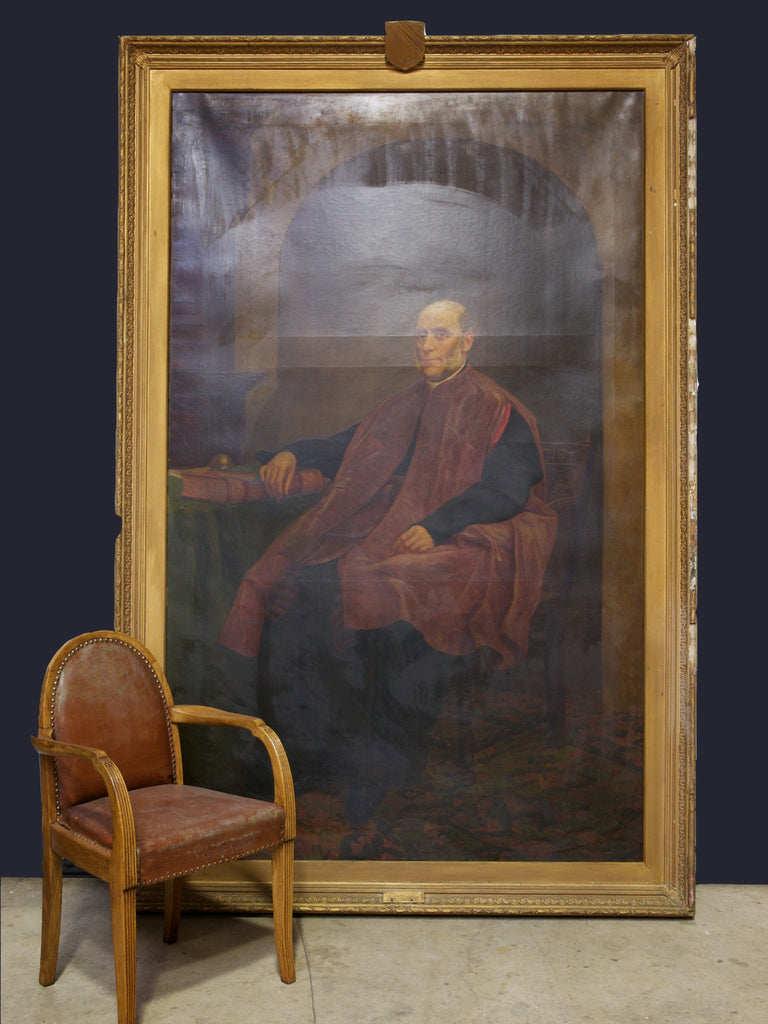 Large Portrait of a Clergyman