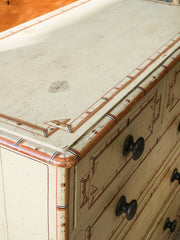 A 19th Century Painted Chest
