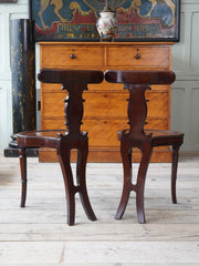 A Pair of George III Hall Chairs