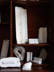 A Collection of Plaster Architectural Moulds