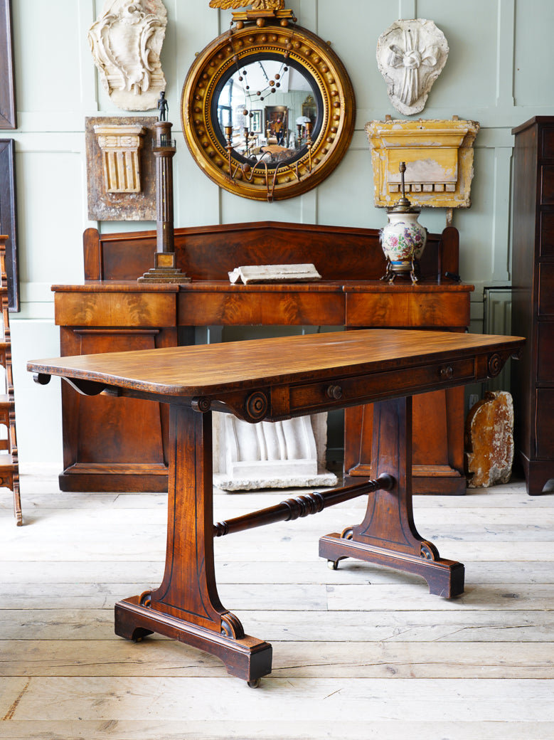Late Regency Library Table