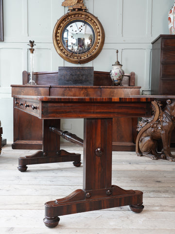 A William IV Rosewood Library Table