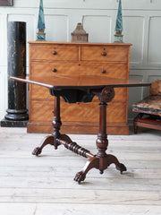 A 19th Century Mahogany Drop Leaf Table