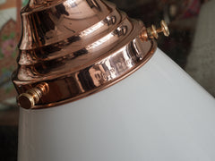 The Grace in Polished Copper