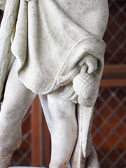 A 19th Century Carved Marble Figure of a Young Hercules
